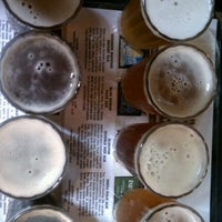 Photo taken at BridgePort Brew Pub by Rachael B. on 6/24/2012