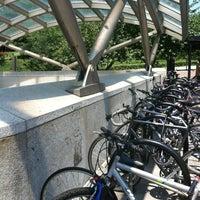 Photo taken at Woodley Park-Zoo/Adams Morgan Metro Station by Melissa K. on 7/4/2012