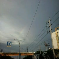 Photo taken at NIDA Intersection by Niyom P. on 9/2/2012