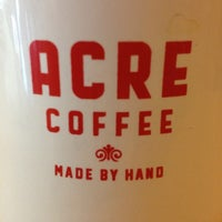 Photo taken at Acre Coffee by Theresa O. on 7/7/2012