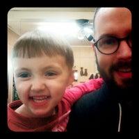 Photo taken at Gentleman's Barber Shop by Adam H. on 4/17/2012