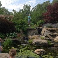 Photo taken at MSU Extension 'Grand Ideas Garden' by Kim D. on 5/29/2012