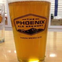 Photo taken at The Phoenix Ale Brewery by Laurie B. on 3/4/2012