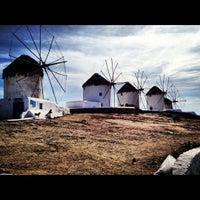 Photo taken at Windmills by Cristina V. on 4/23/2012