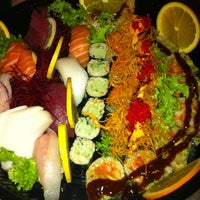 Photo taken at Las Olas Sushi Bar and Grill by Laura L. on 5/25/2012
