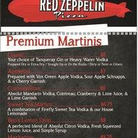 Photo taken at Red Zeppelin Pizza by Red Z. on 4/28/2012