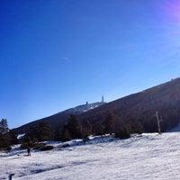 Photo taken at Station du Mont Serein by Richard G. on 2/14/2012