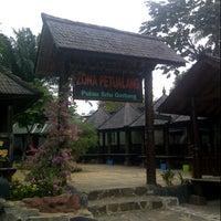 Photo taken at Taman Wisata Pulau Situ Gintung by Lazuardy A. on 8/17/2012