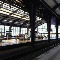 Photo taken at Berlin Friedrichstraße Railway Station by Eteri on 6/22/2012