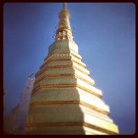Photo taken at Wat Prathat Cho Hae by Komgrid W. on 4/18/2012