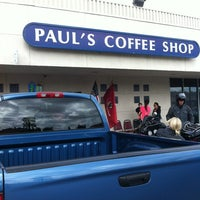 Photo taken at Paul's Coffee Shop by Andres A. on 5/26/2012