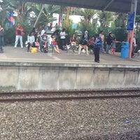 Photo taken at KTM Line - Bandar Tasik Selatan Station (KB04) by Asyiqah A. on 4/7/2012
