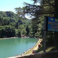 Photo taken at Ristorante Lago lo Specchio Spedaletto by Giammarco C. on 7/4/2012