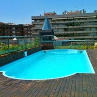 Photo taken at Senator Barcelona Spa Hotel by Martino M. on 6/18/2012
