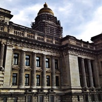 Photo taken at Justitiepaleis / Palais de Justice by Peter V. on 7/30/2012