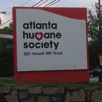 Photo taken at Atlanta Humane Society by Kyle S. on 6/15/2012