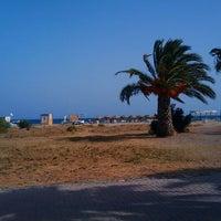 Photo taken at Playa de San José by Víctor Q. on 8/7/2012