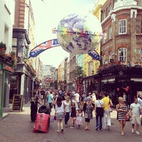 Photo taken at Carnaby Street by Mark W. on 7/28/2012