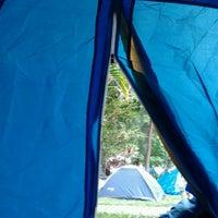Photo taken at Camping Alta da Serra by Guigo C. on 2/20/2012