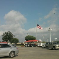 Photo taken at San Marcos Toyota by Harmoney V. on 6/28/2012