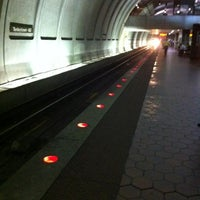 Photo taken at Tenleytown-AU Metro Station by Andy P. on 7/25/2012