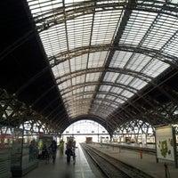 Photo taken at Leipzig Hauptbahnhof by J K. on 6/12/2012