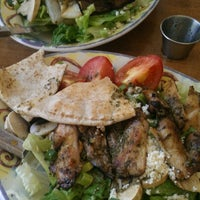 Photo taken at Aladdin's Natural Eatery by Karen L. on 8/22/2012