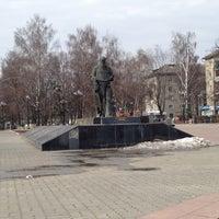 Photo taken at Памятник Л.Н. Толстому by Yury K. on 4/15/2012