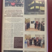 8/2/2012 tarihinde Bernardo R.ziyaretçi tarafından Asociación Mexicana de Contadores Públicos'de çekilen fotoğraf