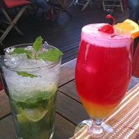 Photo taken at Rick's Café Américain by Natasha V. on 3/9/2012