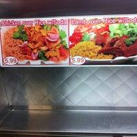 Photo taken at Mushin's Halal Food [Gyro Cart] by Chris T. on 4/18/2012