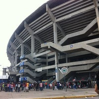 Photo taken at Estadio Jalisco by Rodrygo M. on 7/14/2012
