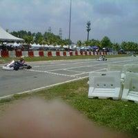 Photo taken at Inderapura Gokart Circuit by Mohd H. on 9/9/2012