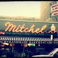 Photo taken at Lou Mitchell's by Whitney E. on 7/5/2012