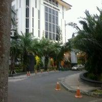 Photo taken at Gedung Rektorat by Oka S. on 7/15/2012