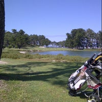 Photo taken at Club de Golf La Toja by Bruno C. on 5/27/2012