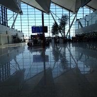 Photo taken at Gdańsk Lech Wałęsa Airport (GDN) by Anna P. on 8/29/2012