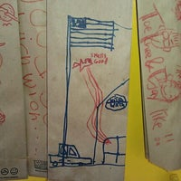 Photo taken at Which Wich? Superior Sandwiches by Donna L. on 6/29/2012