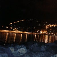 Photo taken at Alanya Sahil by Ⓜehmet . on 9/7/2012
