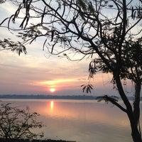 Photo taken at สะพานมิตรภาพไทย-ลาว by Taku M. on 4/12/2012