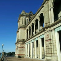 Photo taken at Alexandra Palace by Timothy H. on 8/18/2012