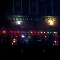 Photo taken at Park Slope Ale House by Bill C. on 4/21/2012