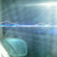 Photo taken at Market Street Bridge by Nancy U. on 4/18/2012
