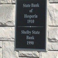 Photo taken at Shelby State Bank by Jessica H. on 9/13/2012