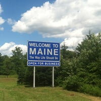 Photo taken at Maine State Line by Kristina N. on 7/3/2012