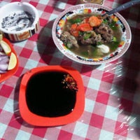 Photo taken at Sate Kambing Sari Sedap by Pangeran P. on 6/5/2012