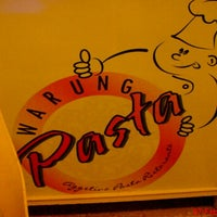 Photo taken at Warung Pasta by Electric A. on 2/7/2012