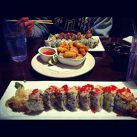 Photo taken at Sushi Island by Anna Z. on 2/27/2012