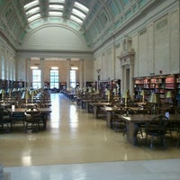 Photo taken at Widener Library by JBanana on 3/4/2012