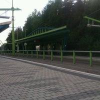 Photo taken at Poliklinika Barrandov (tram, bus) by Julie on 5/11/2012